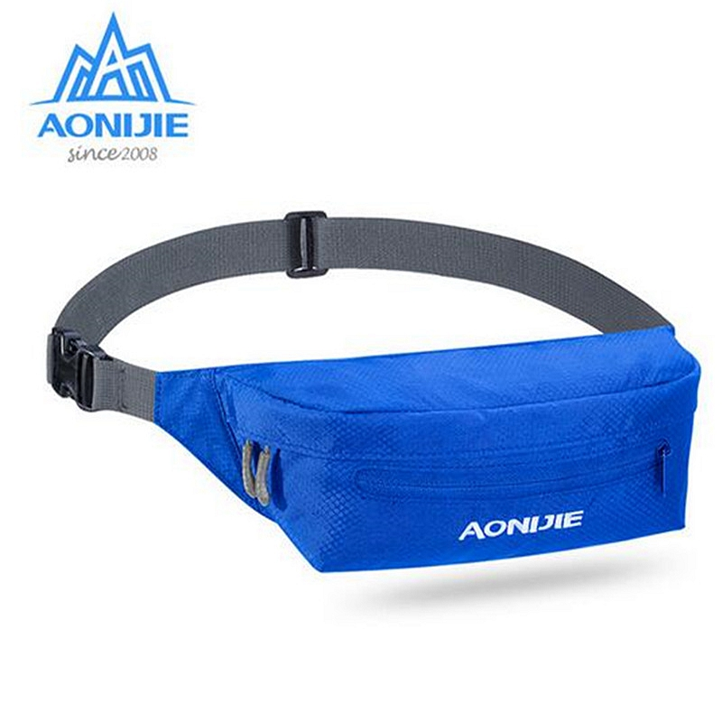 AONIJIE W931 Sport Waist Bag Anti-theft Belt Hip Pack Racing Hiking Camping  Fitness Running 3 Colors