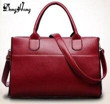 Fashion Women Handbag PU Wax Leather Women Bag Large Capacity Tote Bag Big Ladies Shoulder Bags Famous Brand Bolsas Feminina