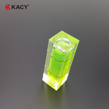 KACY 20pcs/lot 15x15x40mm/10x10x29mm Square Bubble Level for professional measuring and instruments leveling