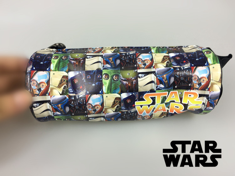 star wars last jedi pencil case with all star wars characters