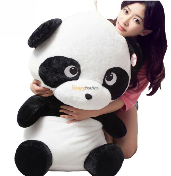 Fancytrader 35 / 90cm Giant Lovely Stuffed Cute Plush Cartoon Giant Panda Toy, Nice Gift For Kids, Free Shipping FT50401Fancytrader 35 / 90cm Giant Lovely Stuffed Cute Plush Cartoon Giant Panda Toy, Nice Gift For Kids, Free Shipping FT50401