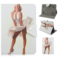 Marilyn Monroe PU Leather Cover Case For ARCHOS 101 Neon 101 Xenon 101 XS 2 10