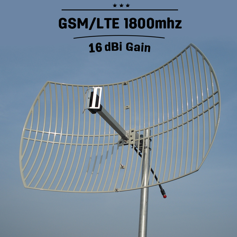 антенна 4g 1800 мгц - GSM 1800 4G LTE 1800mhz Outdoor Grid Antenna 16dBi Gain 4G Antenna External Antenna For Mobile Phone Signal Booster Repeater S23