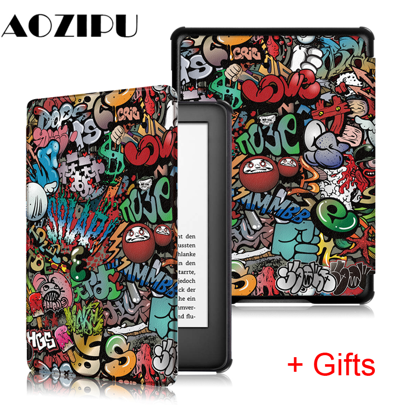 "Smart Slim Case for New Amazon Kindle 10th Generation 2019 Release 6"" Magnetic Protective Cover for Kindle 2019 Case Funda