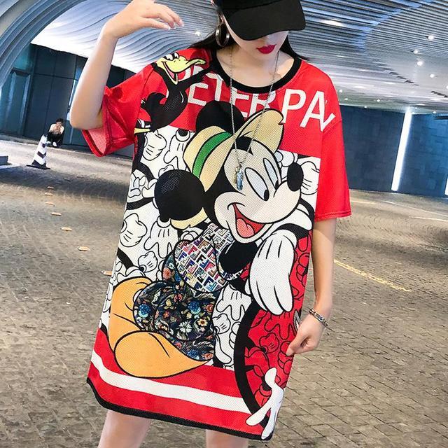 Cartoon Mickey Mouse...