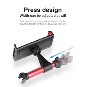 Image 4 - 2019 Auto Car Back Seat Holder Extendable and Rotatable Car Phone Holder Tablet Holder Stand Mount Support Automotive products