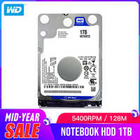 WD Western Digital AZUL 1TB hdd 2,5 SATA WD10SPZX disco duro portátil interno Sabit disco duro HD portátil DISCO DURO