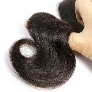 Image 5 - Liweike גוף גל 30 32 34 36 ארוך אינץ חבילות 1/3/4 חתיכות שוזר ברזילאי 1B רמי 100% שיער טבעי לציפורן מיושר תוספות