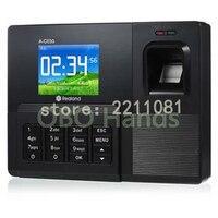 Biométrique temps de présence d'empreintes digitales temps recoorder temps horloge pour employé de bureau Avec USB soutien Anglais langue