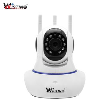 Wistino HD 1080P IP Camera WiFi Surveillance Security Camera Alarm Remote CCTV Wireless Camera Night Vision P2P Mini Camera 6 led night vision 1 2g 380tv lines wireless mini camera receiver combo security cctv wireless camera system 1 2ghz