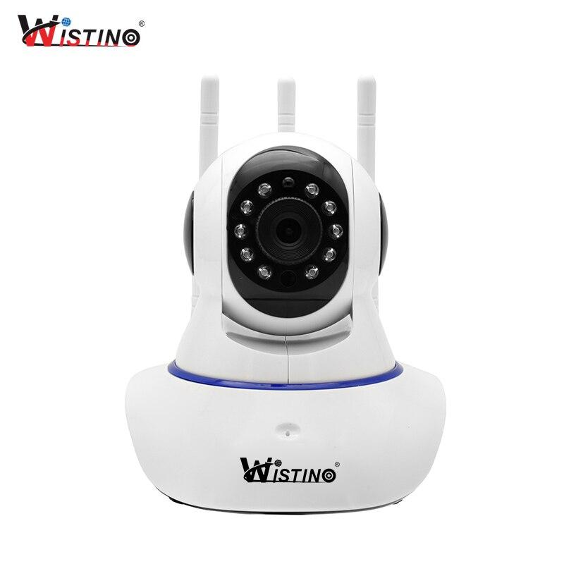 цена на Wistino HD 720P IP Camera WiFi Surveillance Security Camera Alarm Remote CCTV Wireless Camera Night Vision P2P Mini Camera Audio