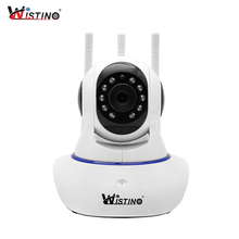 Wistino HD 720P IP Camera WiFi Surveillance Security Camera Alarm Remote CCTV Wireless Camera Night Vision P2P Mini Camera Audio цена 2017