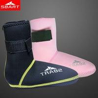 SBART 3MM Neoprene Socks For Swimming Diving Boots Scuba Snorkeling Equipment Water Sports Adult Swim Flippers