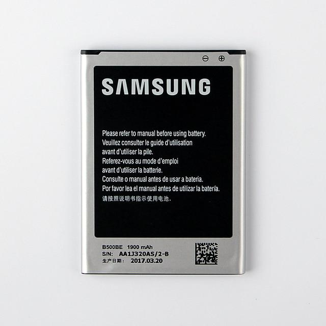 100% Original Replacement Battery B500AE For Samsung GALAXY S4 Mini I9190 I9192 I9195 I9198 B500AE B500BE Phone Battery 1900mAh