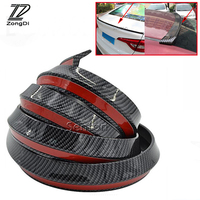 ZD Car Carbon Rear Bumper Front Lip Tail Protection Spoilers For Mercedes W203 W211 W204 W210 Benz BMW F10 E34 E30 F20 X5 E70