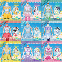 Love Live!Sunshine!! Aqours Koibininaritai AQUARIUM Takami Chika Kurosawa Ruby Uniforms Cosplay Costume Free Shipping