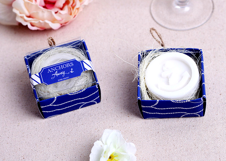 New Arrival Factory Directly Sale Wedding Favor Anchors Away Scented Soap Favors Party Decoration And Baby Show