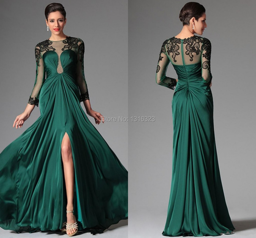Popular Emerald Green Prom Gown-Buy Cheap Emerald Green Prom Gown...
