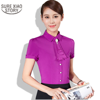 2017 New Arrival Women White Shirts Long Sleeve Lady Cotton Blouse Tops Office Lady S Uniform