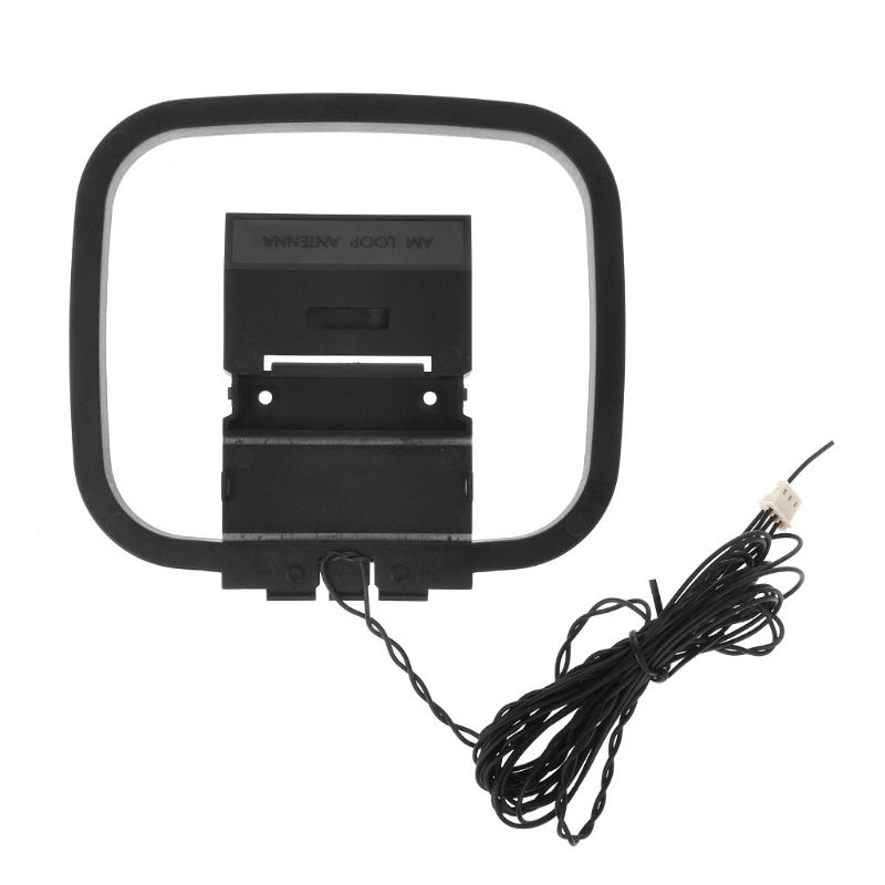 HiFi AM//FM Loop Antenna With Mini Connector for Sony Sharp Receiver Audio System