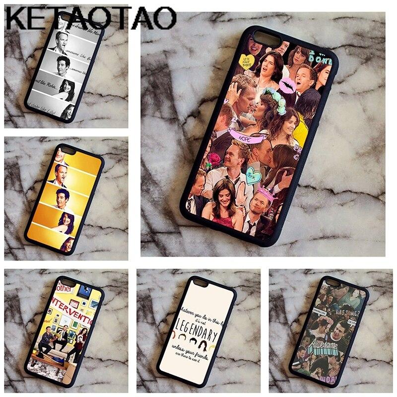 KETAOTAO Как я встретил вашу маму ТВ телефон чехлы для iPhone 4S SE 6 5C 5S 6 S 7 8 6 Pl ...