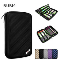 2018 Hot BUBM Brand EVA Accessories Storage Bag For Ipad mini 7.9, Multifunction Case For Tablet 7 inch, Free Drop Shipping