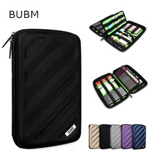 Hot BUBM Brand EVA Accessories Storage Bag For Ipad mini 7.9″, Multifunction Case For Tablet 7 inch, Free Drop Shipping