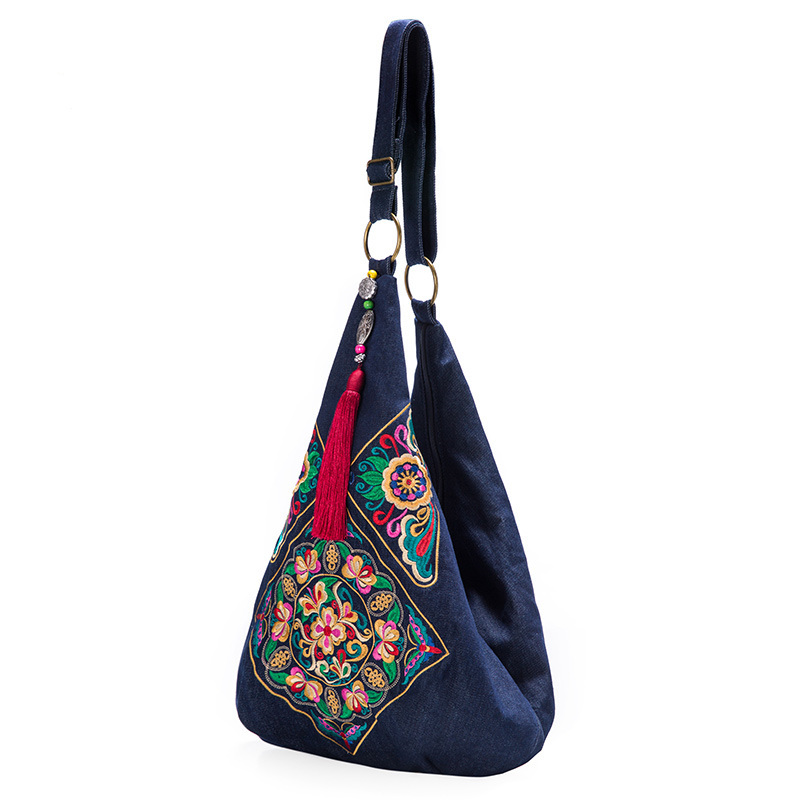 Character design Chinese style embroidery bag ethnic shoulder bags ...