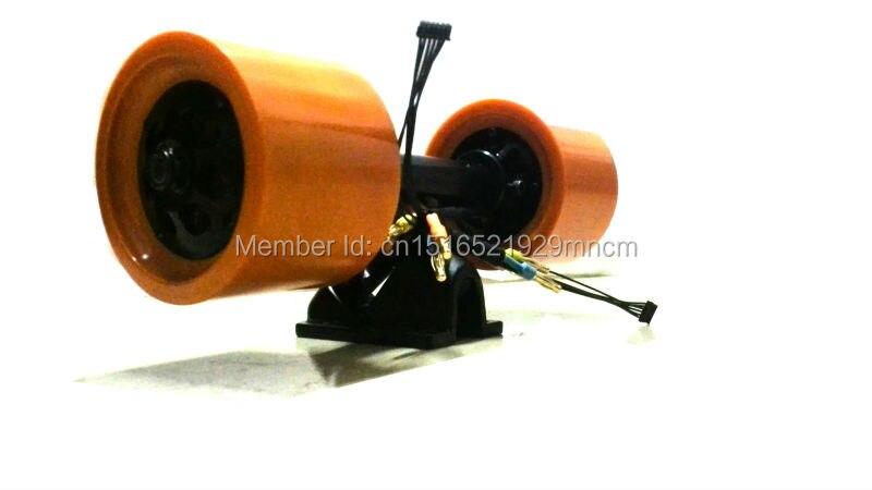 Monopatín eléctrico en el kit del motor de la rueda para longboard incluyendo ESC y remotes - 3