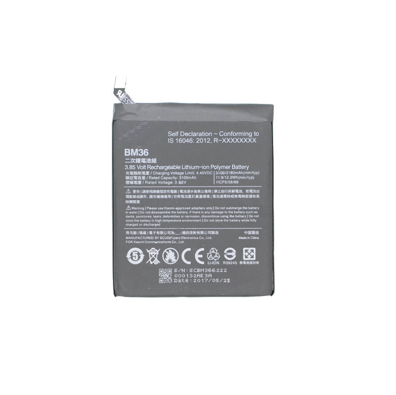 BM36 Xiao Mi Mi5s Replacement-Battery Batteria Mobile-Phone 3100/3180mah For 10pcs/Lot