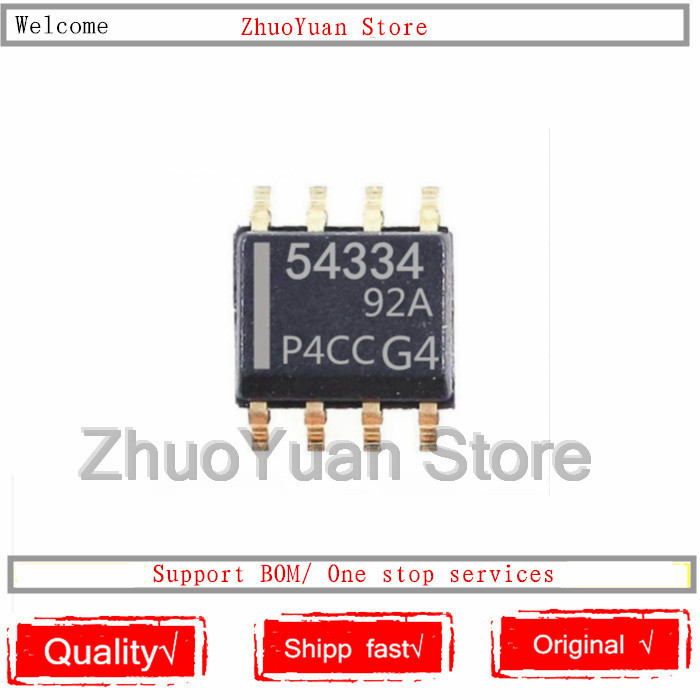 1PCS/lot New Original TPS54334DDAR TPS54334 54334 SOP8 IC Chip