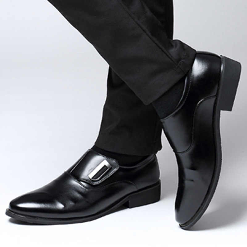 Summer Men Leather Oxford Flat Classic