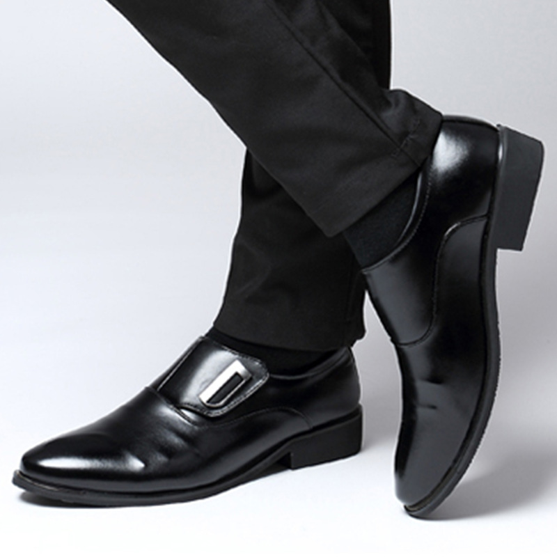 Business Shoes Mens Dress Pointed Toe Patent Leather Lace Up Derby Oxford Wedding Fashionable Office Floral Vintage Casual Flat Brown 4-13UK