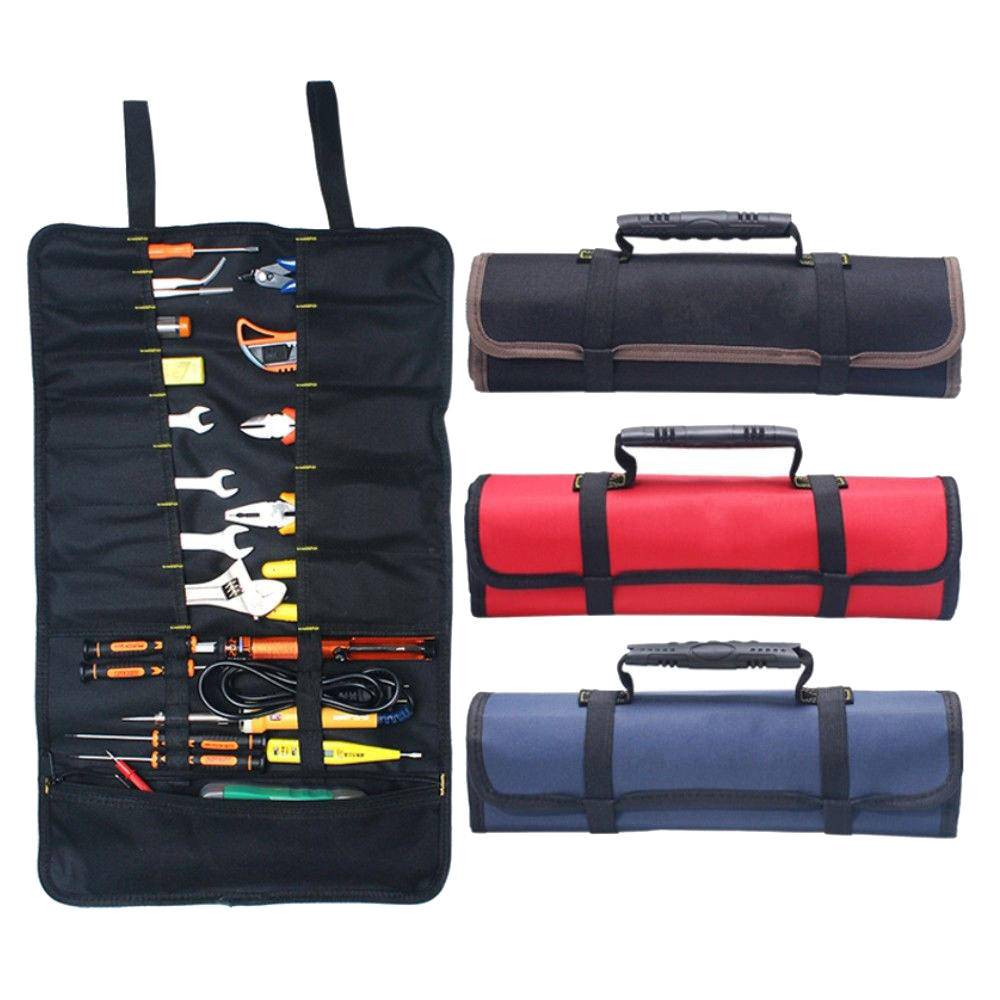 3 Color Choice Chef Knife Hand Tool Storage Roll Bag Protable Multifunction High-End Fashion Practical Portable Tool Kit