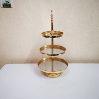 Golden Dessert Table Display Stand Decoration Cake Stand Cake Tray Cake Table Dessert Rack Rectangular