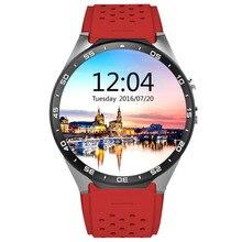 Electrónica Kingwear KW88 Caliente Reloj teléfono Inteligente Android 5.1 GPS 2.0MP Cámara Podómetro Del Ritmo Cardíaco de la ayuda 3G WIFI SIM nano tarjeta