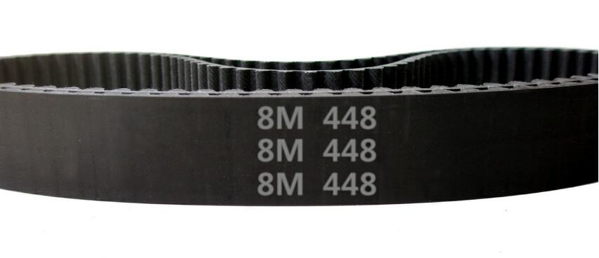 650-5M HTD Timing Belt 130 Teeth Cogged Rubber Geared Closed Loop 20mm Wide