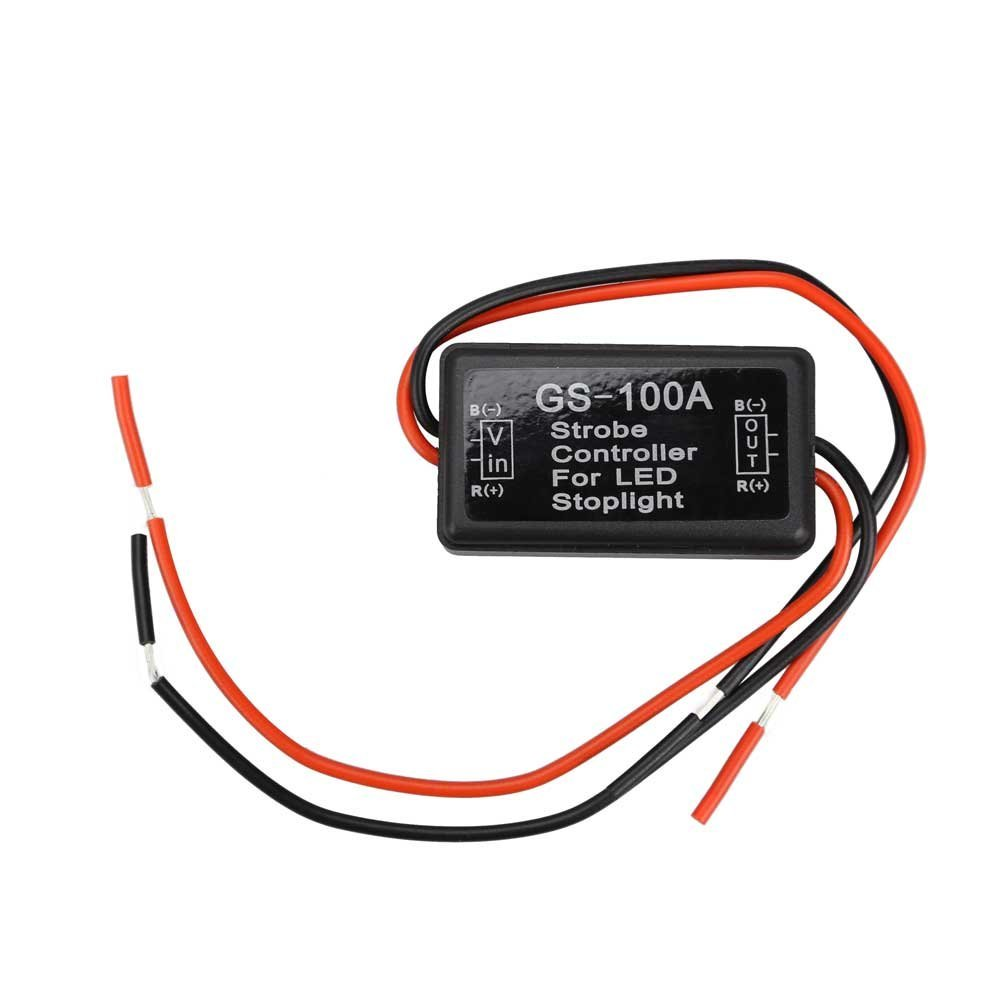 New Car Automobiles Motorcycles Truck 12v Flash Strobe Controller Flasher Module for LED Brake Stop Light Car Lamp