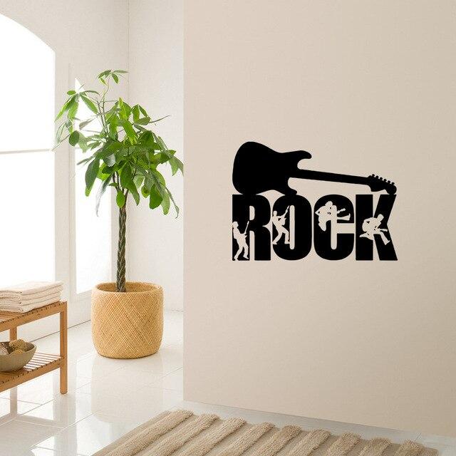 Camera da letto ornamento murale di arte della parete musica ...