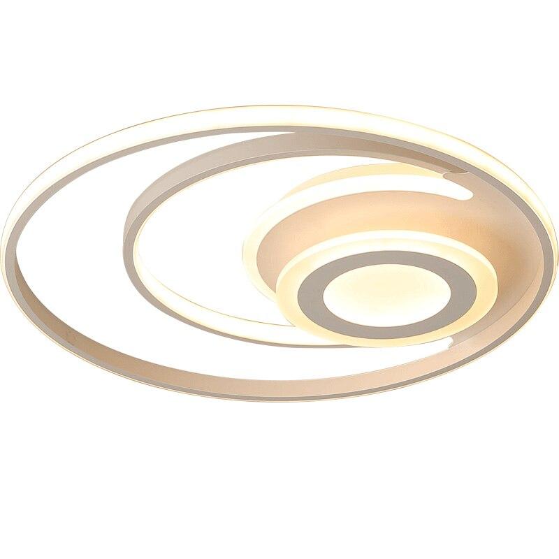 white modern Led Chandelier lighting for bedroom living room dining room acrylic lustre luminaria lampadario Ceiling Chandelier цена