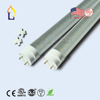 5 pcs/lot stock aux ETATS-UNIS UL/DLC/ETL T8 LED Tube Lumière 18 W/24 W/30 W/48 W SMD2835 Remplacement Lampada Led éclairage Fluorescent