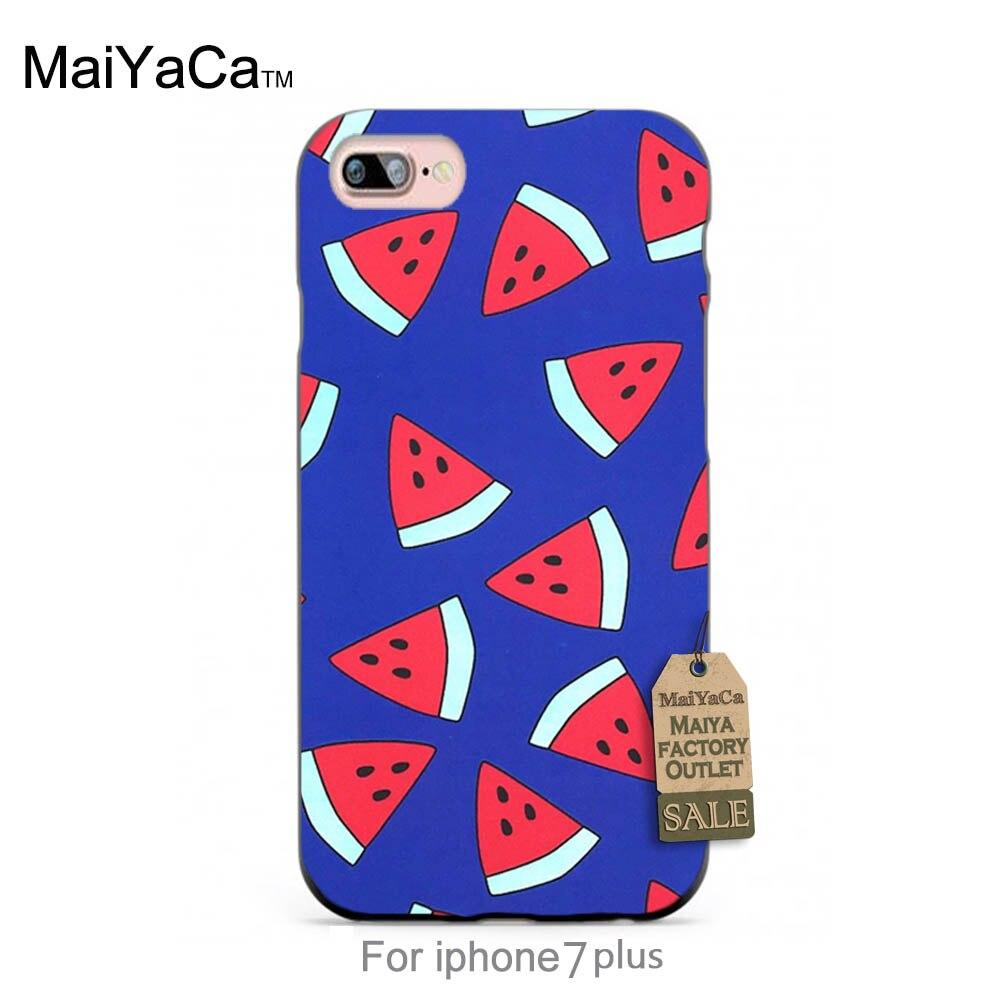 Case de silicona encantadora frutas sandía summer colorido lindo del teléfono ac