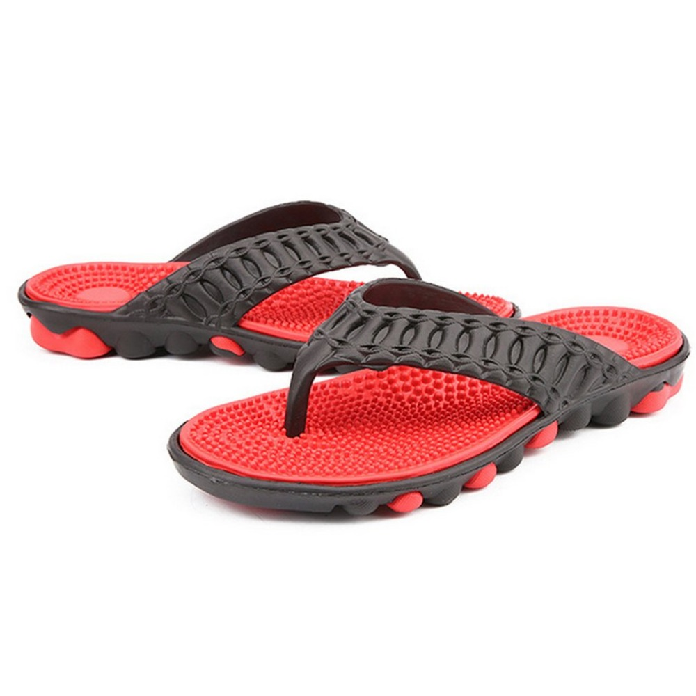 cd8ab95a39443b Detail Feedback Questions about Comfortable Men Massage Flip Flops Shoes  Male Flats Sandals Casual Beach Shoes Anti skid Soft Shoes Male Slipper on  ...