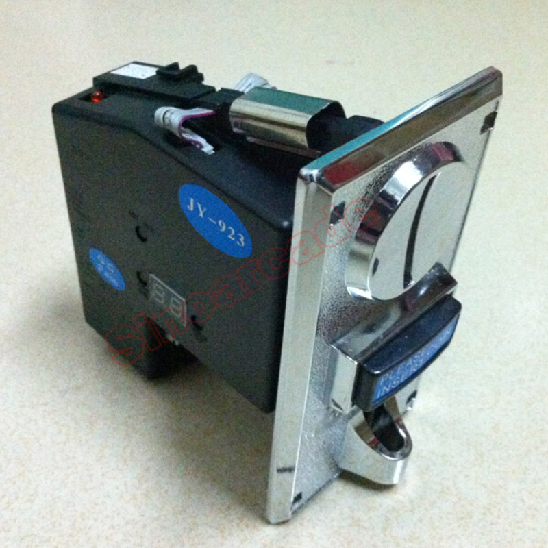 JY 923 CPU Multi Coins Selector coin Acceptor for Vending machine accept 3 type coins at