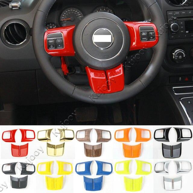 2013 Jeep Patriot Interior: Aliexpress.com : Buy 10 Colors ABS Car Steering Wheel