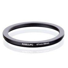 Переходное кольцо фильтр RISE(UK), 67 58 мм, 67 58 мм, 67 58 мм, черное