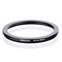 RISE (UK) 67mm 58mm 67 58mm 67 para 58 Step down Anel Adaptador Filtro preto