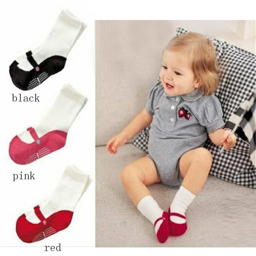 Fancy Baby Socks Infant anti-slip Socks for Girls Newborns Socks for Princess Holiday Birthday Gifts for Baby Girls R3 ...