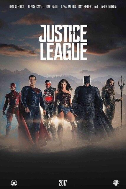 DIY marco Justice League 2017 Movie art carteles y Impresión de Casa ...