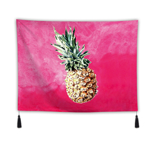 Background Fabric Valance Tapestry Wall Hanging Tropical Plants Bedroom Living Room Blanket Yoga Beach Towel Tablecloth Home